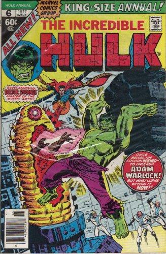 The Incredible Hulk Annual #6 Comic Book