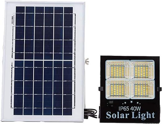 DGYZ Solar Focos Led Exterior,Al Aire Libre Impermeable LED para Jardín Yarda Entrada De Coches Garaje Patio Patio (Size : 40W): Amazon.es: Hogar