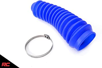4-Pack Aftermarket Blue Shock Absorber Boot Cover JSP Brand Replaces ROU-87151