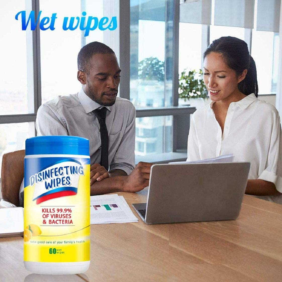 Elevin Wet Wipes 60 Sheets