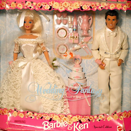 Barbie and Ken Wedding Fantasy Gift Set Special Edition Brid