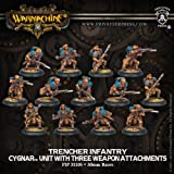 Privateer Press Warmachine - Cygnar - Trencher Infantry Model Kit