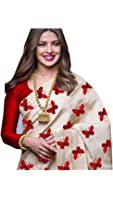 Sarees(Women's Clothing Saree For Women Latest Design Collection Fancy Material Latest Georgetee Printed Sarees With Designer Beautiful Bollywood Sarees For Women Party Wear Offer Designer Sarees With Blouse Piece New Collection saree(PriyaTitliMaroon)