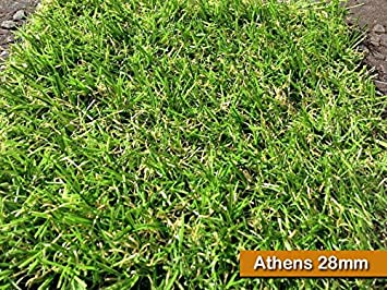 Athens Astro 28mm Artificial Garden Grass Realistic Natural Turf Fake Lawn