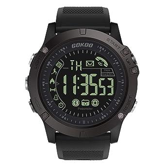 GOKOO Smartwatch Hombre Deporte Reloj Inteligente Hombre Fitness ...