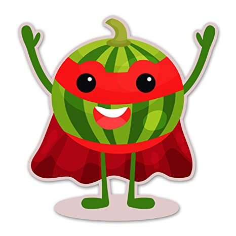 Amazon.com: Ninja Pickle Super Fruit Watermelon Decal for ...