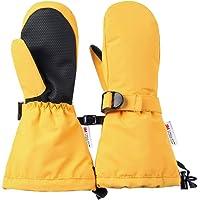 Ami&Li tots - Manoplas impermeables y cálidas para niños y niñas, con puños ajustables, para practicar esquí y para la…