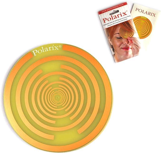 Polarix – Disco para el Alivio del Dolor | Terapia de curación de los Chakras | Piedras para la curación de la energía & Parches para el Alivio del ...