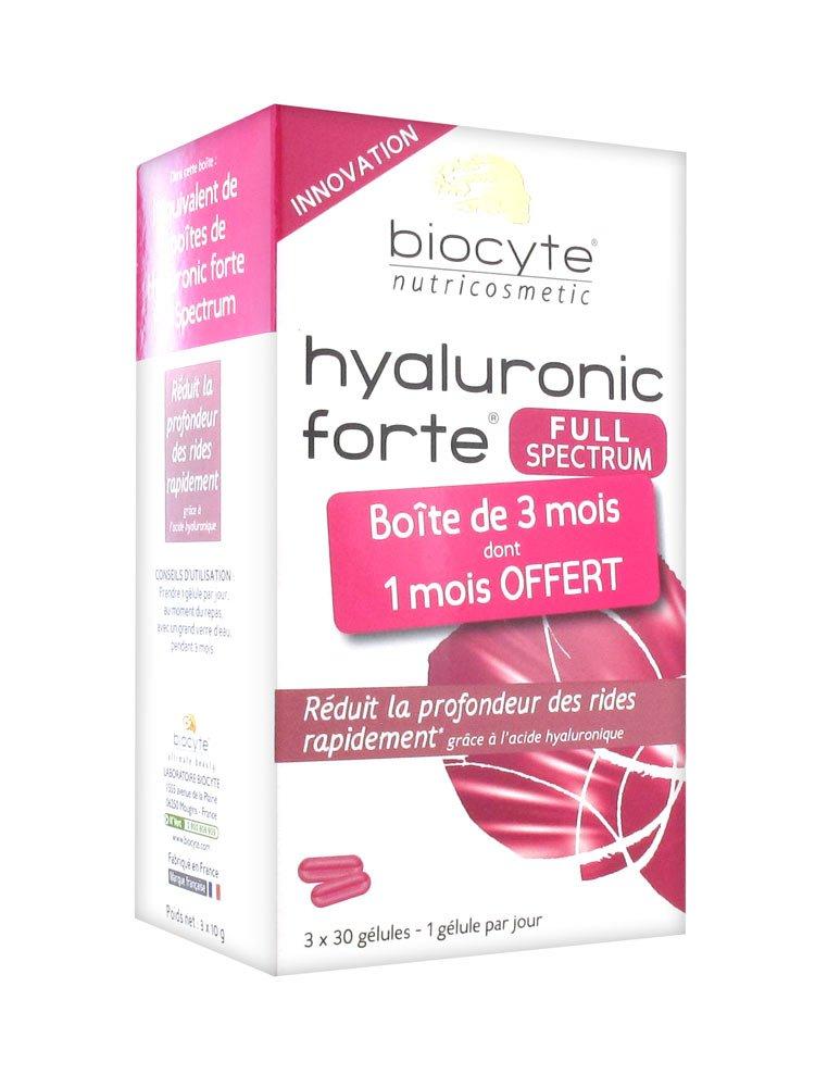 Biocyte Hyaluronic Forte Full Spectrum 3 x 30 Capsules