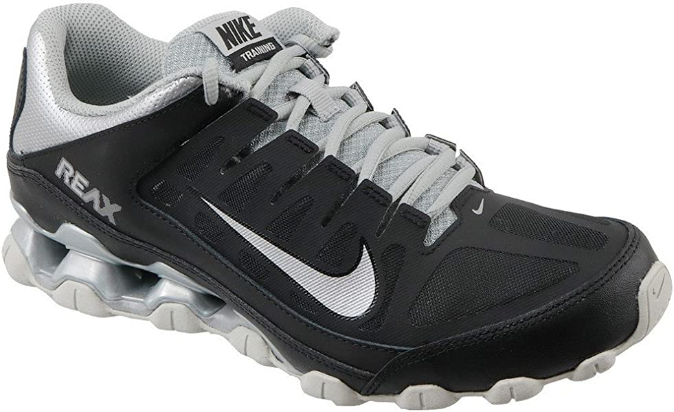 check out 91da8 0f007 Amazon.com   NIKE Men s Reax 8 TR Training Shoe Black Metallic ...