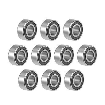 683-2RS 3x7x3mm Ball Bearings Black Rubber Sealed Bearing 5 PCS