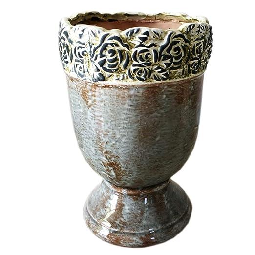 Jarrón de cerámica floral de Better-way, moderno, decorativo ...