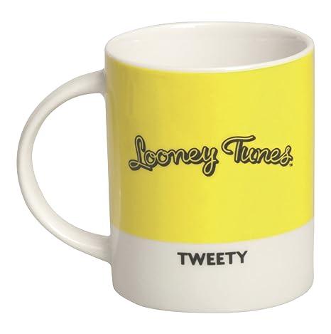 Excelsa Looney Tunes Mug Daffy Duck 300 ml, Porzellan, Rot