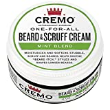 Cremo Beard & Scruff Cream, Astonishingly Superior, Best for all Lengths of Facial