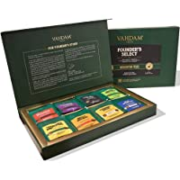 VAHDAM, Assorted Tea Bag Sampler - 8 Tea Flavors, 40 Tea Bags Gift Set | OPRAH's FAVORITE TEA | Black Tea, Green Tea…