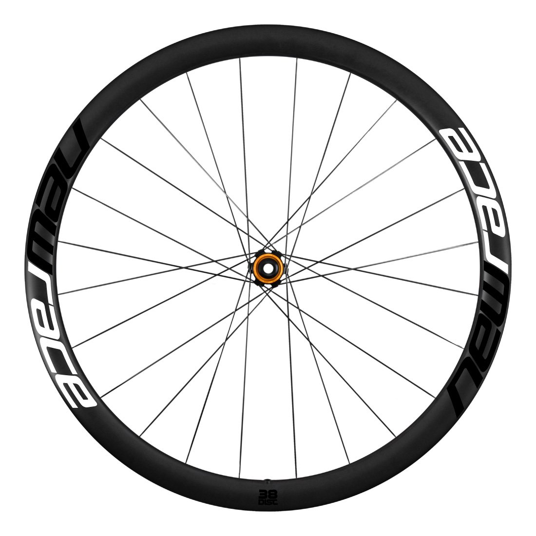 New Race Road Carbon 38 Clincher Disc Wheelset Shimano (Par de Ruedas Carretera Carbono): Amazon.es: Deportes y aire libre