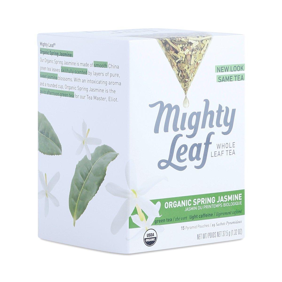 Amazon.com : Mighty Leaf Tea Organic Green Dragon Tea, 15-Count ...
