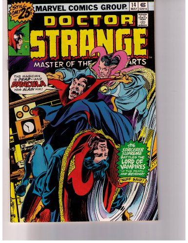 Doctor Strange Master of the Mystic Arts. No. 14 May 1976 (Vol. 1)