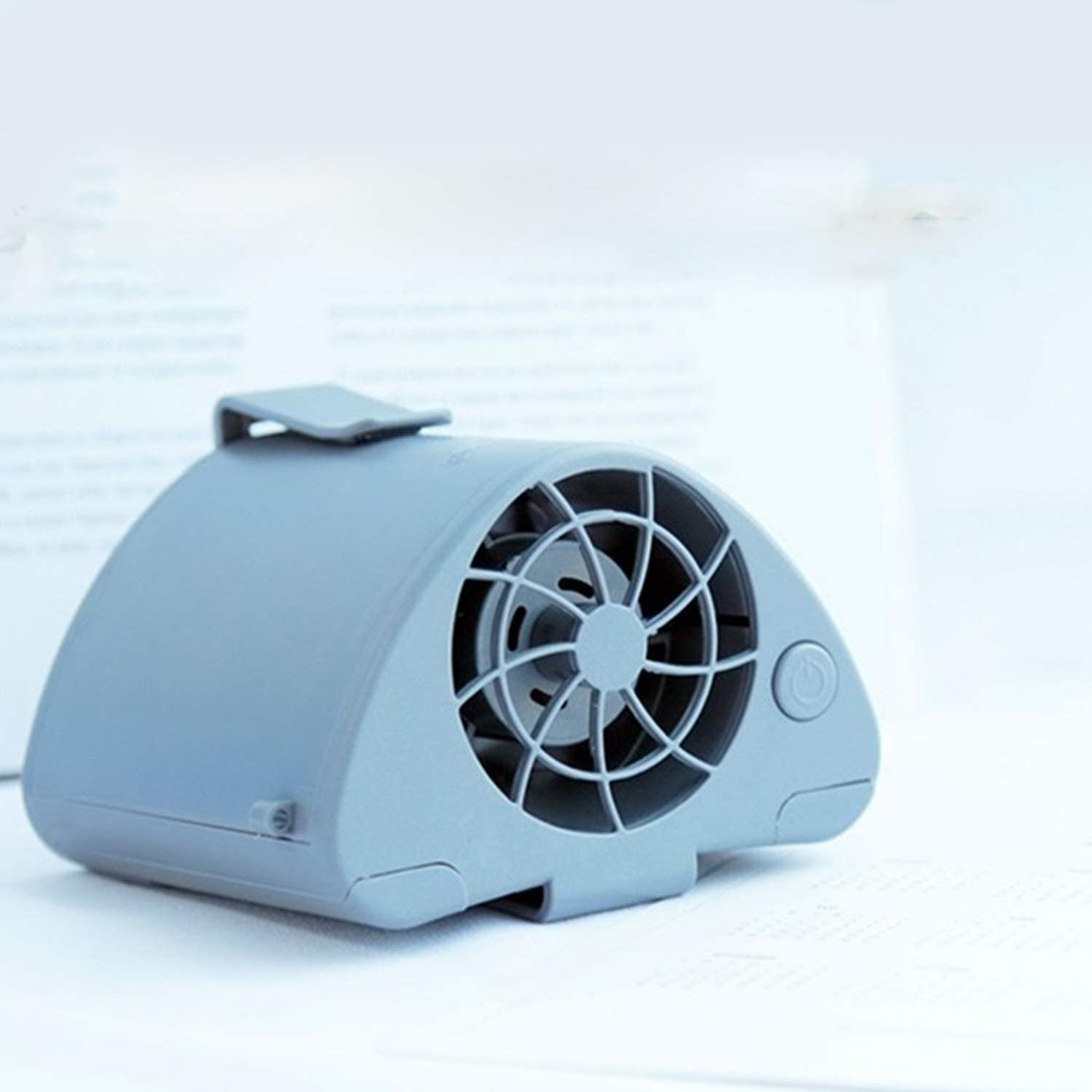 Color : 01 Air Cooler Outdoor Hanging Waist Fan USB Small Fan Portable Mini Large Wind Large Lithium Battery Personal Fans
