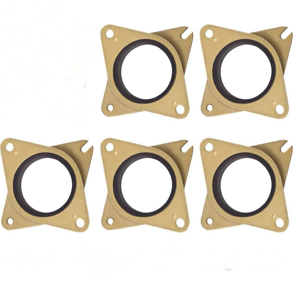Stepper Motor Vibration Damper Yefun Steel & Rubber Stepper Motor Shock Absorber For 3D Printer Nema 17 (5 Pcs/Lot) (Size 1)