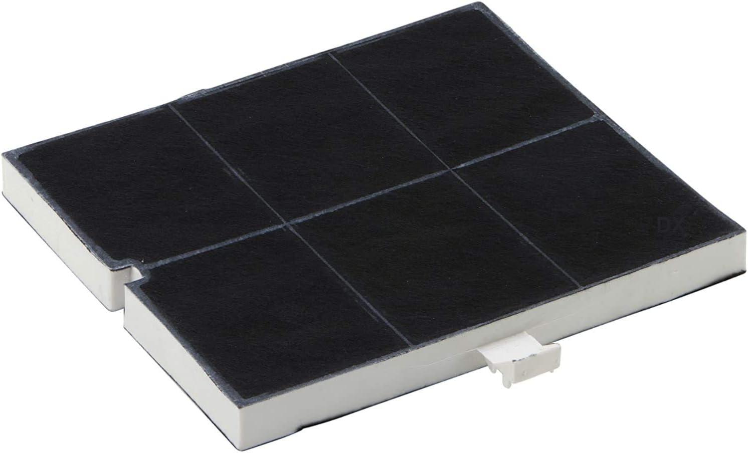 DREHFLEX - Filtro de carbón/filtro/filtro de carbón activo para diversos modelos de campana extractora/hauben/Essen de Balay/Bosch/Constructa/Neff/Junker + ruh/Siemens/Viva/Vorwerk etc. - Apta para pi