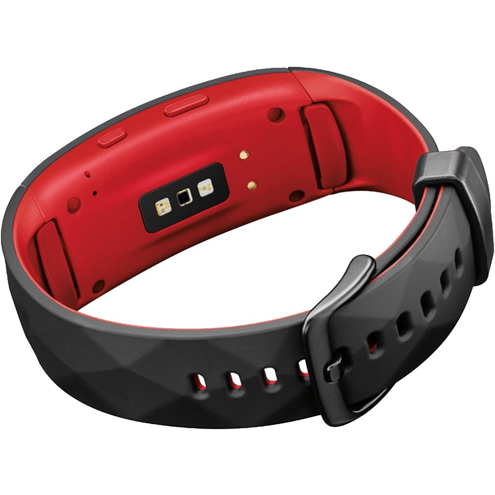 Samsung Gear Fit2 Pro Fitness Smartwatch - Red, Small (SM-R365NZRNXAR) + Fusion Bluetooth Headphones + Gear Black Jacket Case + 1 Year Extended Warranty by Beach Camera (Image #5)