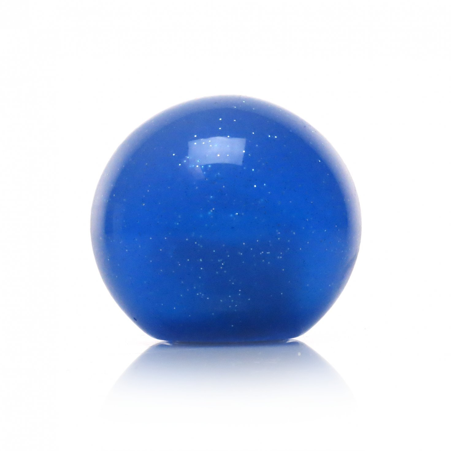 American Shifter 20665 Blue Metal Flake Shift Knob with 16mm x 1.5 Insert Black Dotted Arrow Up