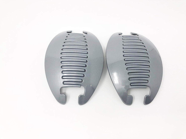 2 set Banana Comb Clip Thick Hair Riser Claw Interlocking Jaw Extra Pick up .