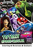 Disney Pixar Totally Spook-Tacular (Sticker Scenes & Coloring Book)