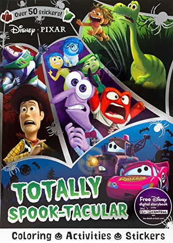 Price comparison product image Disney Pixar Totally Spook-Tacular (Sticker Scenes & Coloring Book)