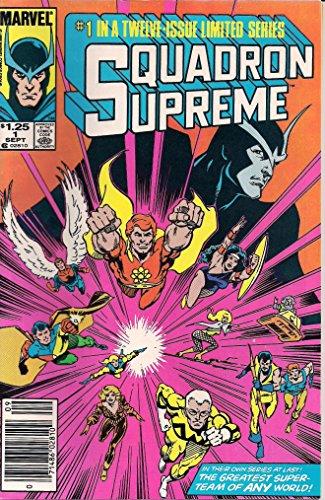 Squadron Supreme #1 : The Utopia Principle (Marvel Comics)