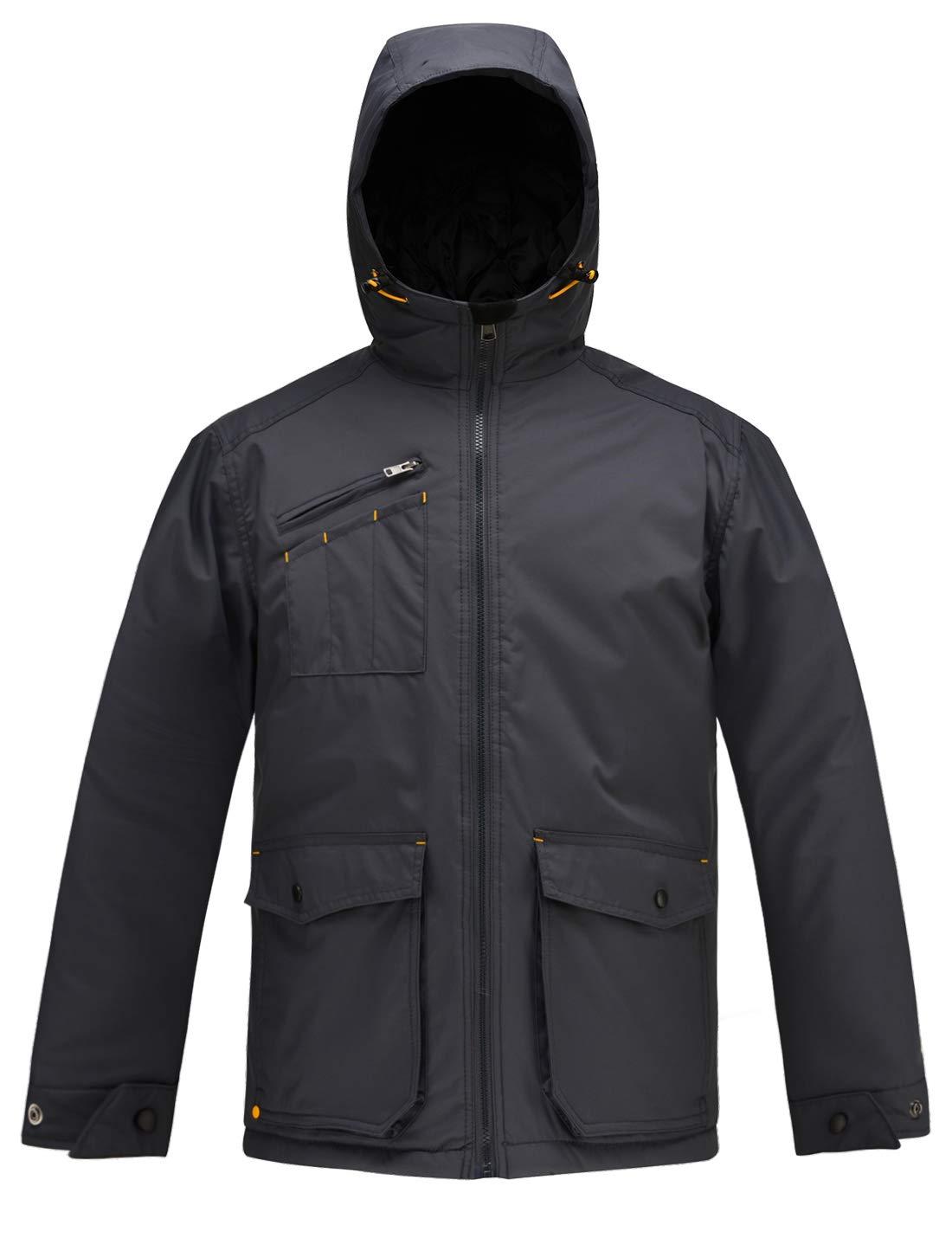 HARD LAND Mens Winter Jackets Waterproof