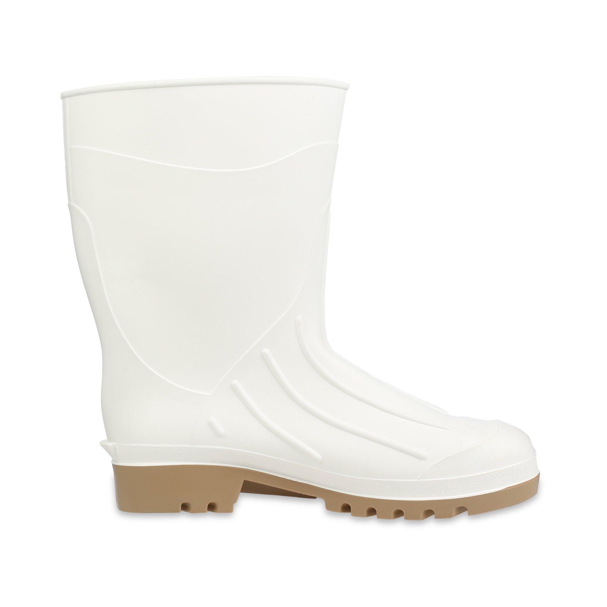 Servus 12'' PVC Polyblend Soft Toe Shrimp Boots, White (74928) by Honeywell (Image #6)