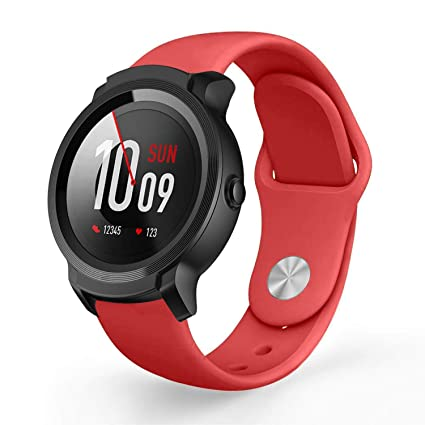 Amazon.com: for TicWatch E2/TicWatch S2 Bands, Lamshaw Sport ...