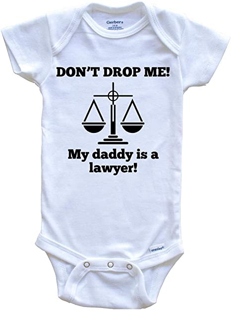 Details about  /My Daddy/'s a Joker Funny Baby Onesie Organic Cotton FREE SHIPPING