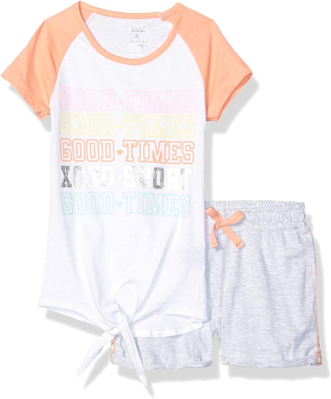 XOXO Girls Active Top and Short Set