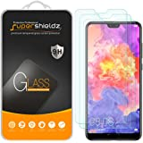 [3-Pack] Supershieldz for Huawei P20 Pro Tempered Glass Screen Protector, Anti-Scratch, Bubble Free, Lifetime Replacement Warranty