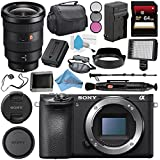 Sony Alpha a6500 Mirrorless Digital Camera (Body) ILCE6500/B + Sony FE 16-35mm f/2.8 GM Lens SEL1635GM + NP-FW50 Replacement Lithium Ion Battery + Deluxe Cleaning Kit Bundle