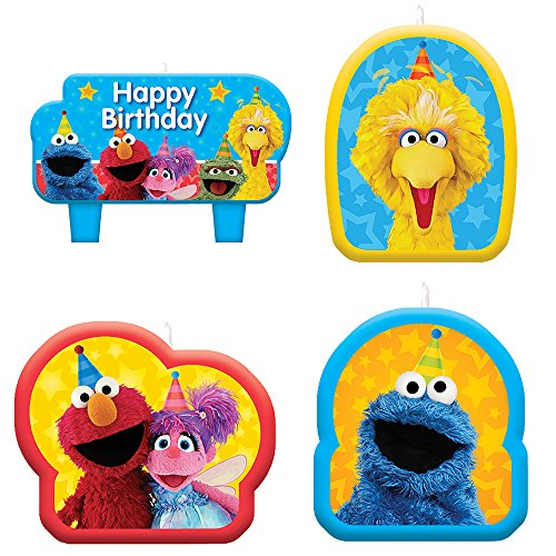 Sesame Street 'Stars' Mini Candle Set - Mini Abby Cadabby