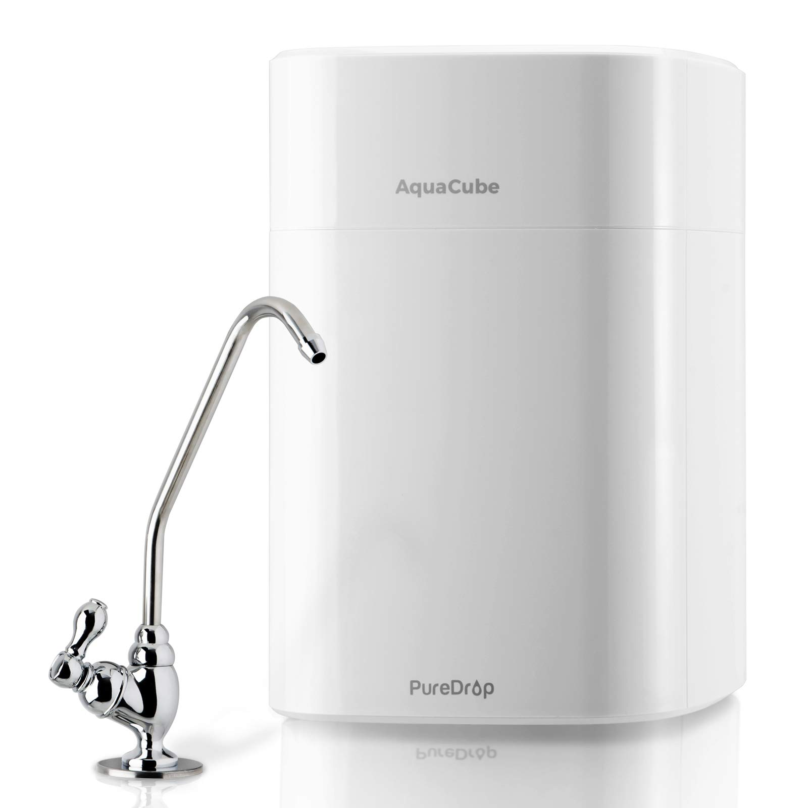 PureDrop CUW4 Aquacube Tankless Drinking Water Filter System Compact Ultra Filtration
