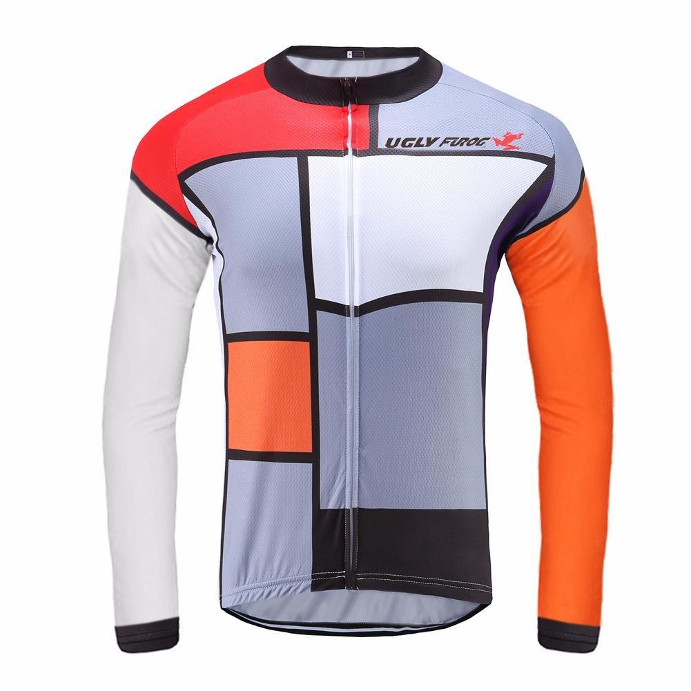 Uglyfrog Sporternメンズアウトドアスポーツサイクリング半袖サイクルジャージバイクウェア自転車シャツ B074CBYT2G Small カラー13 カラー13 Small