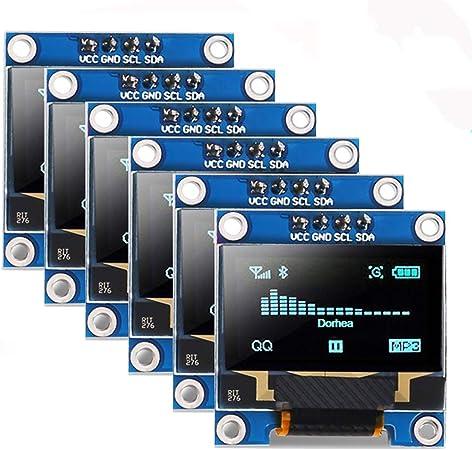 3 pcs 0.96 Inch 4Pin White IIC I2C OLED Display Module 12864 LED
