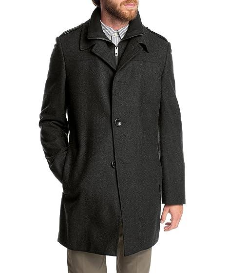 Jacke Herren Grau Esprit Collection 98 Größe Mantel Top