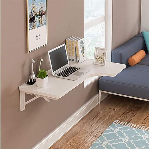 Mesa de madera para montar en la pared, mesa flotante para ...