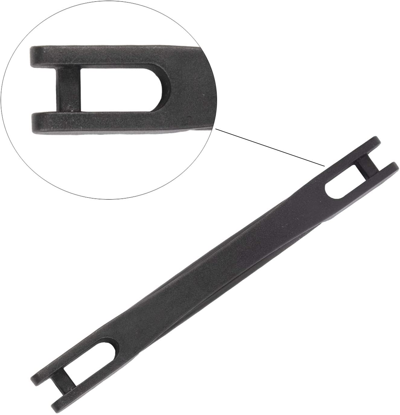 22.5cm Length Suitcase Luggage Case Handle 2PCS Black Luggage Strap Handle Grip for Suitcase Luggage