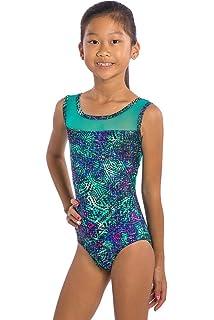 c8374366c sleek a6daa a7551 amazon girls gymnastics leotard animal print ...
