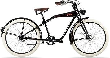 Hawk Bikes Hudson – Bicicleta retro Cruiser 26 pulgadas con marco ...