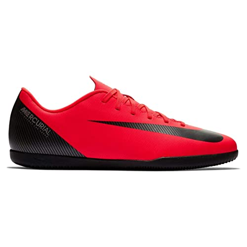 watch 7922c de9a1 Nike Mercurial Vapor Club CR7 Indoor Football Trainers Mens Red Soccer Shoes   Amazon.co.uk  Shoes   Bags