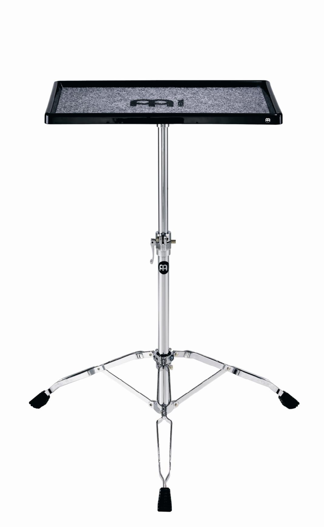 Meinl Percussion Table Stand with Double Braced Tripod Legs - NOT MADE IN CHINA - Fully Height Adjustable, 2-YEAR WARRANTY TMPTS