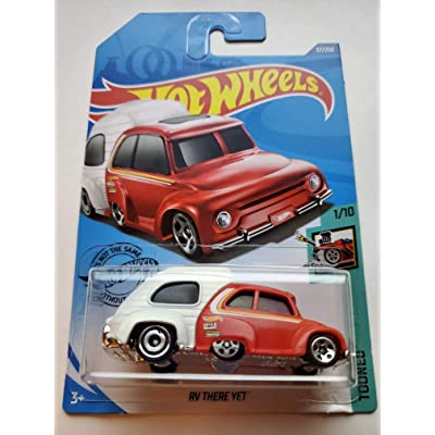 Hot Wheels 2020 Tooned RV There Yet 37/250, Red and White: Toys & Games
